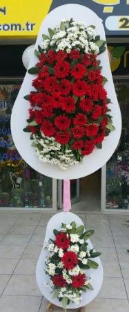 Çift katlı düğün nikah işyeri açılış çiçeği  Mersin uluslararası çiçek gönderme