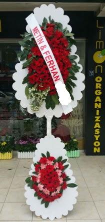 Çift katlı düğün nikah çiçeği modeli  Mersin online çiçekçi , çiçek siparişi