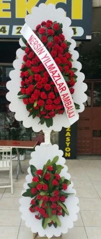 Çift katlı düğün nikah çiçeği modeli  Mersin güvenli kaliteli hızlı çiçek