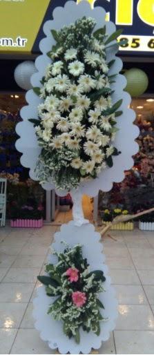 Çift katlı düğün nikah açılış çiçeği  Mersin çiçek online çiçek siparişi