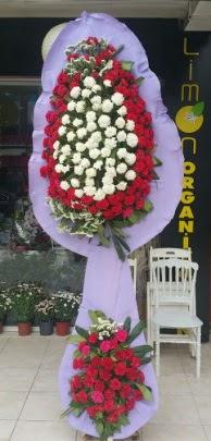 Çift katlı işyeri açılış çiçek modeli  Mersin kaliteli taze ve ucuz çiçekler