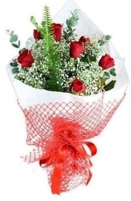 7 adet gülden kız arkadaşıma çiçek  Mersin çiçek online çiçek siparişi