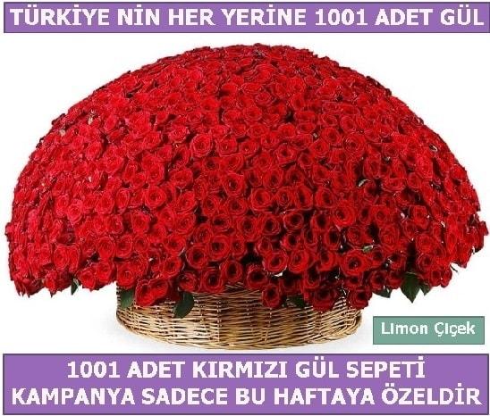 1001 Adet kırmızı gül Bu haftaya özel  Mersin uluslararası çiçek gönderme