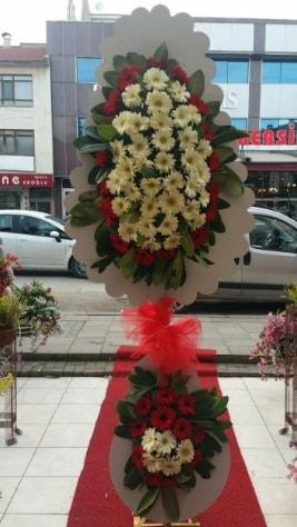 Çift katlı düğün açılış çiçeği  Mersin çiçek servisi , çiçekçi adresleri