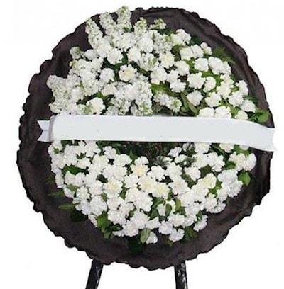 Cenaze çelengi çiçeği modelleri  Mersin çiçek yolla , çiçek gönder , çiçekçi