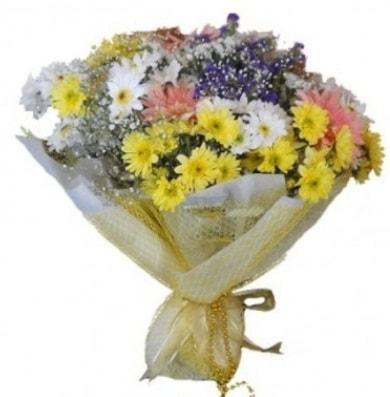 Karışık mevsim çiçeği  Mersin çiçek servisi , çiçekçi adresleri