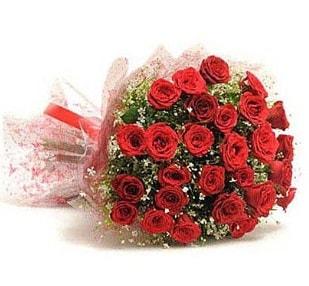 27 Adet kırmızı gül buketi  Mersin kaliteli taze ve ucuz çiçekler