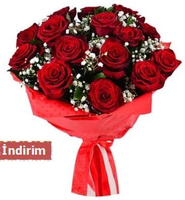 12 Adet kırmızı aşk gülleri  Mersin çiçek servisi , çiçekçi adresleri