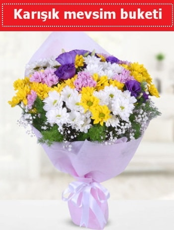 Karışık Kır Çiçeği Buketi  Mersin çiçek siparişi vermek