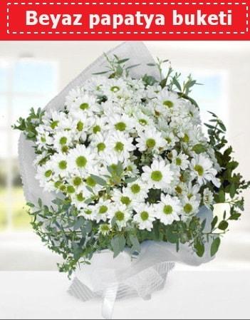 Beyaz Papatya Buketi  Mersin ucuz çiçek gönder