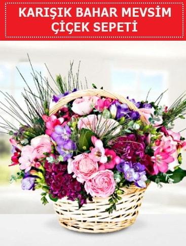 Karışık mevsim bahar çiçekleri  Mersin kaliteli taze ve ucuz çiçekler